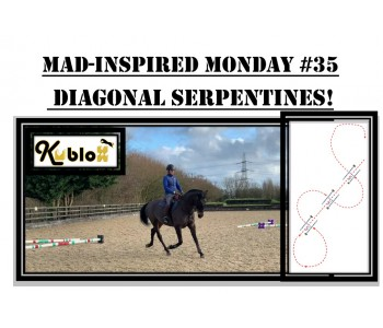 Mad Inspired Monday #35 - DIAGONAL SERPENTINES!