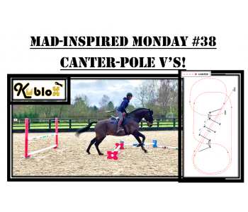 Mad Inspired Monday #38 - CANTER POLE V's