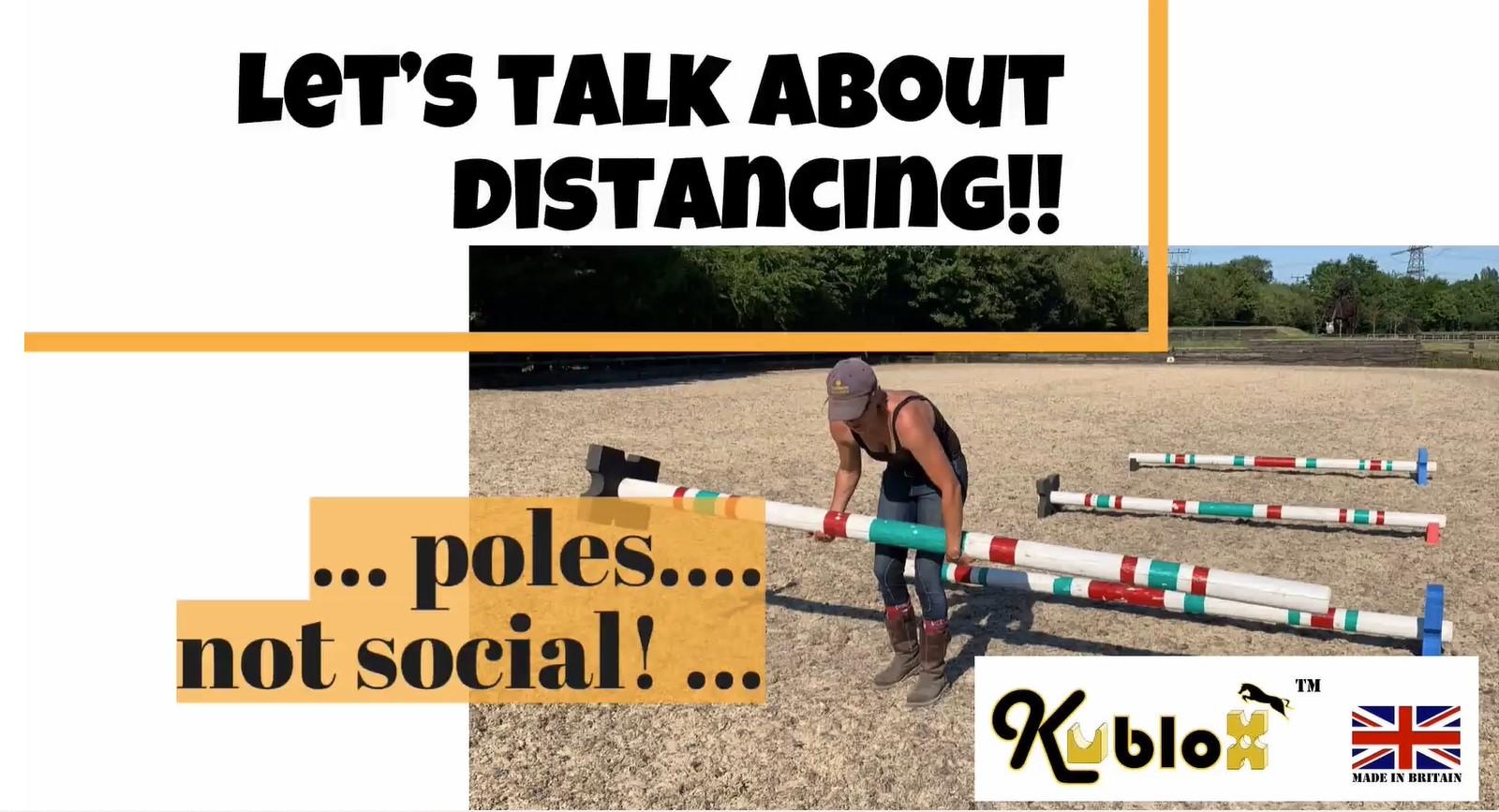 Correct Distances for Pole & Cavaletti Work